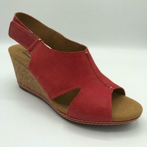 Clark's Collection Helio Float Wedge Slingback